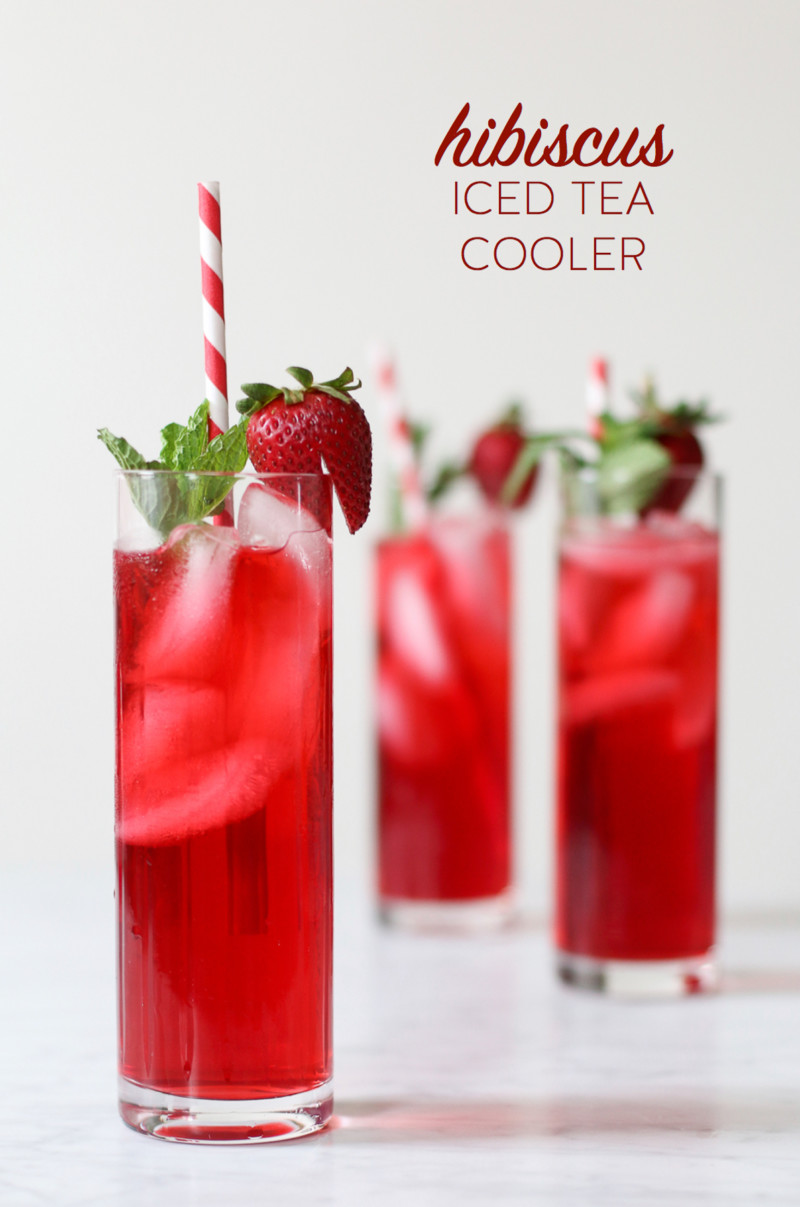 The healthiest thing on the planet to drink hibiscus tea for Iced tea cocktail recipes